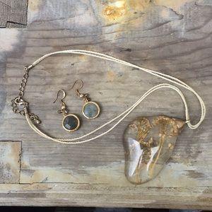 Vintage necklace & Earrings